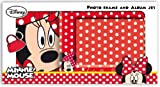 Disney Minnie Mouse Foto Album und Bilderrahmen Minnie Mouse Set