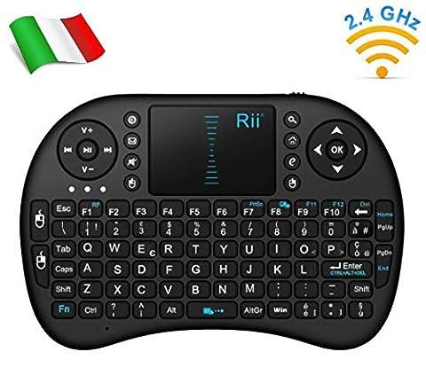 Rii Mini i8 Wireless (AZERTY) - Mini clavier Française ergonomique
