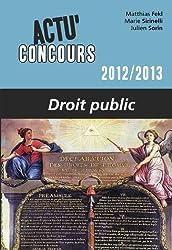 Droit Public 2012-2013
