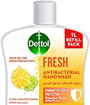 Dettol Fresh Handwash Liquid Soap Refill for effective Germ Protection & Personal Hygiene (protects agains