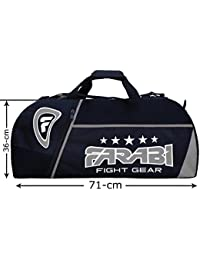 Fitness-Studio fitness Farabi con el uniforme, MMA, Boxeo equipamiento bolsa, bolsa de viaje bolsa de entrenamiento de marcha gris