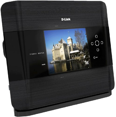 D-Link DIR-685/DE Wireless N Storage Router LCD