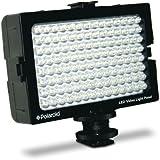 Polaroid Eclairage à 112 diodes LED pour appareils photo et caméscopes Griffe et variateur d'intensité (Import Royaume Uni)
