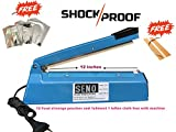 #5: Seno 12 Inches Hand Sealing Machine , Suitable To Seal All Kinds Of Pouches Sealing For Home /Shop/ Business Purpose, Very Easy To Use For Any One