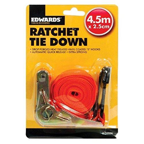 new-45m-ratchet-tie-down-strap-quick-release-cargo-trailer-lashing-hooks