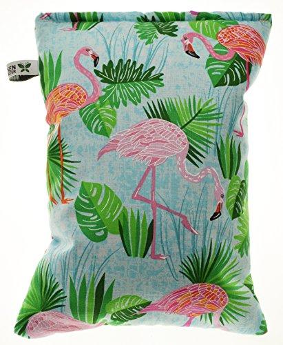 """Kräuterkissen gefüllt mit Heilkräutern, ca.25x20 cm. Design """" Flamingo"""" Nr. 224"""
