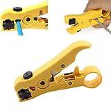 Herramienta para pelar y cortar cables