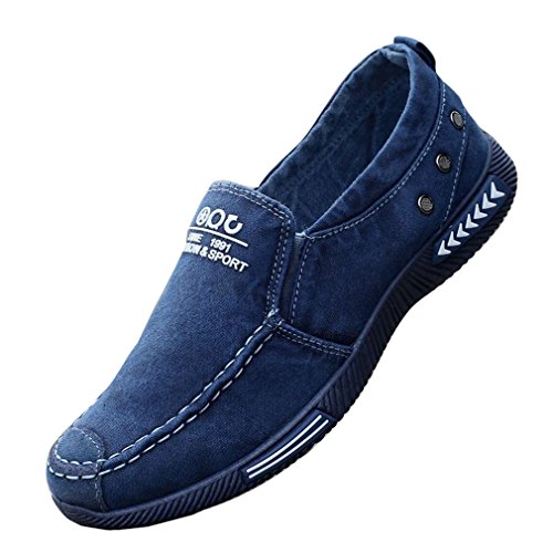 Estate Uomo Vecchie Scarpe di Stoffa di Pechino Scarpe in Tela Traspirante Scarpe da Uomo Pigro con Una Gamba Sola Scarpe Casual Scarpe