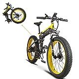 Extrbici Vélo Tout Terrein Pliable électrique Homme XF690Plus VTT Pliant...
