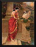 Raja Ravi Varma Painting- Hamsa Damayant...