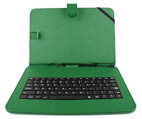 2-in-1 Micro-USB-Hülle plus Tastatur aus Lederimitat mit ENGLISCHER QWERTY-Belegung, geeignet für Digital2 9