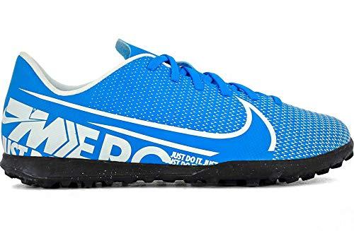 Nike Unisex-Kinder Vapor 13 Club TF Fußballschuhe, Mehrfarbig (Blue Hero/White/Obsidian 414), 33 EU