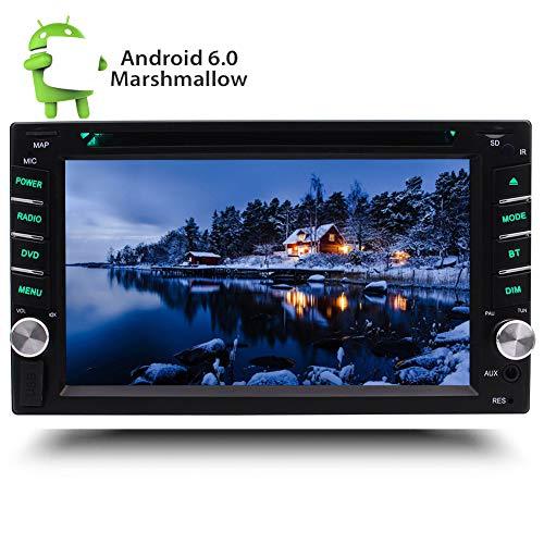 EINCAR Quad-Core-Android 6.0 Eibisch Car Stereo Double 2 DIN in dem Schlag Auto-Autoradio 6.2