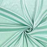 Fabulous Fabrics Futterstoff Charmeuse – mintgrün —