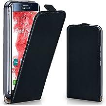 Bolso OneFlow para funda Samsung Galaxy S6 Edge Cubierta con imán | Estuche Flip Case Funda móvil plegable | Bolso móvil protección móvil paragolpes funda protectora con cubierta en Nero