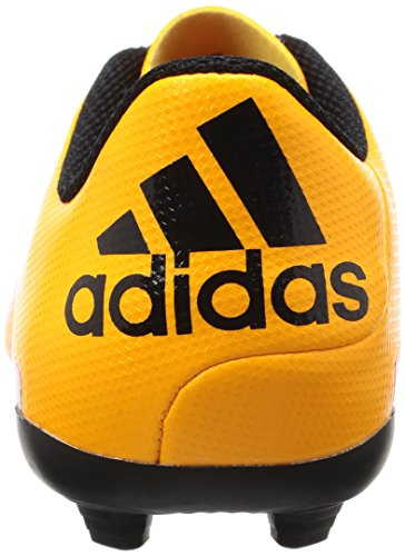 adidas X 15.4 Fxg, Chaussures de Football Compétition Mixte Enfant Orange (Solar Gold/Core Schwarz/Shock Pink)