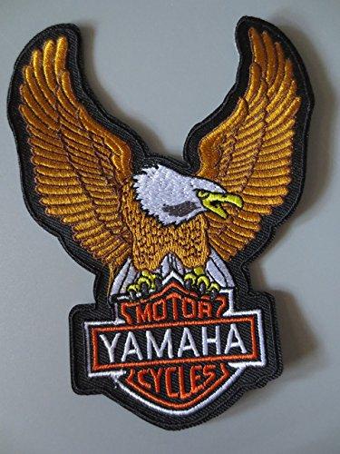 New American Eagle Hawk ricamo patch per il rivestimento indietro la maglia Motorcycle Club motociclista fuorilegge 9.5x13cm