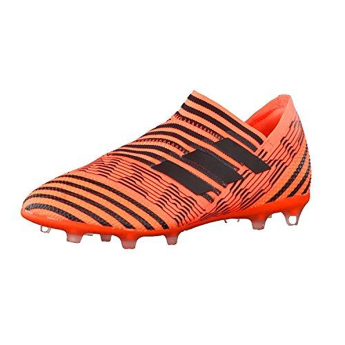 adidas Nemeziz 17+ 360agility Fg, Scarpe da Calcio Unisex-Bambini, Arancione Orange/Core Balck/Solar Red solarorange/corebalck/solarred, 37 1/3 EU