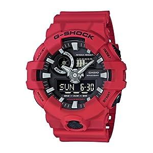 514O gMrU2L. SS300  - G-Shock-Mens-GA700-4ACR-Watch-Red-Black