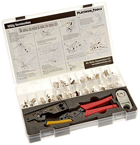 Platinum Tools 90170 10Gig Termination Kit. Box. by Platinum Tools Termination Box