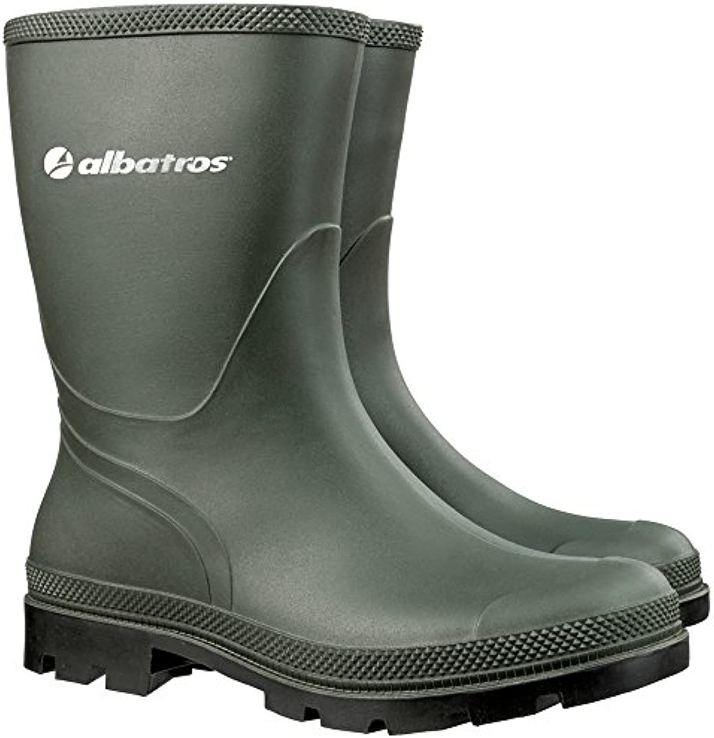Albatros 593080 – 600 – 37 The Rancher botas de PVC, color verde, talla 37