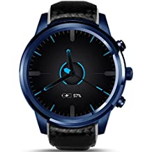 LEMFO LEM5 Pro - 3G Smartwatch Phone 1.3GHz Quad Core 2GB RAM 16GB ROM, Android 5.1 monitor de pulso cardiaco Podómetro GPS