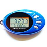#1: WalkFit Tri-axis 3D Intelligent Pedometer with Strap | 7 Days Memory, Accurate Step Counter, Walking Distance Miles/Km, Calorie Counter, Daily Target Monitor, Exercise Time