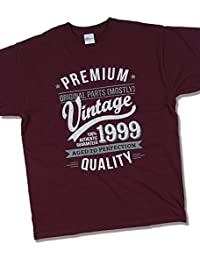 1999 Vintage Year - Aged To Perfection - 18 Ans Anniversaire T-Shirt pour Homme