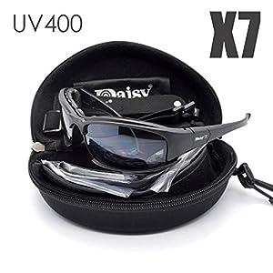 Tactical Eyewear 4ls Homme militaire X7Lunettes de soleil polarisées pare-balles Airsoft vue Gafas fumée objectif Moto Lunettes de cyclisme