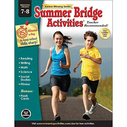 Summer Bridge Activities, Grades 7 - 8