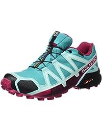 Salomon Zapatillas Speedcross 4 GTX de trail running para mujer, Sintético/Textil