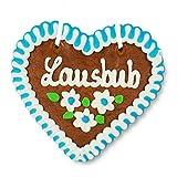 Lebkuchenherz 12cm - Lausbub - original bayrische Oktoberfest-Spezialität