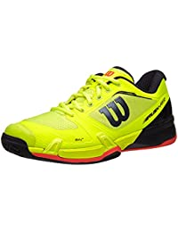 Wilson Rush Pro 2.5 Ye/Rd Men's Shoe 10.0