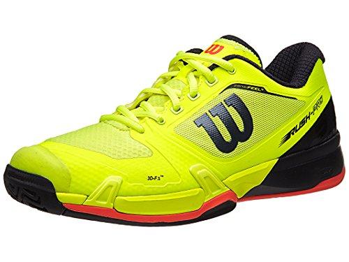 Wilson Rush Pro 2.5 Ye/Rd Men's Shoe 8.0