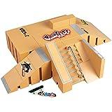 Together® Mini dedo monopatín Rampa Parque Kit dedo Junta Sitio del patín de ruedas de Ultimate Sports Parts 8PCS y 2PCS Juntas Finger