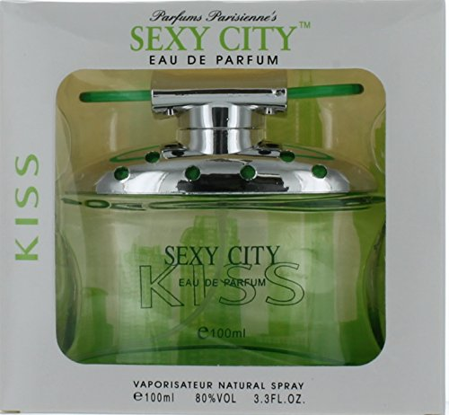 Sex in The City Kiss by Unknown EAU De Parfum Spray 3.4 oz / 100 ml (Women) - Spray 3.4 Ounce Kiss