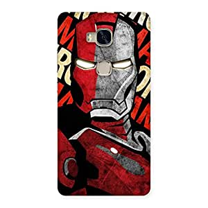 Neo World Hard Red Man Back Case Cover for Huawei Honor 5X