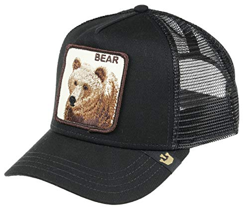 24f789b6c1fc5 Goorin Bros. Trucker Cap Big Bear Black - One-Size