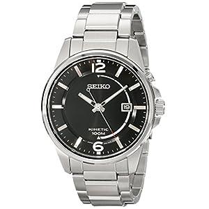 Seiko Men's SKA671 Analog Display Analog Quartz Silver Watch