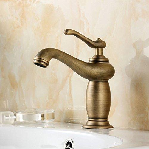 Rame antico continentale di arte tutto il bacino dell'annata lavabo rubinetto - 36 Mm Testa Della Chiave