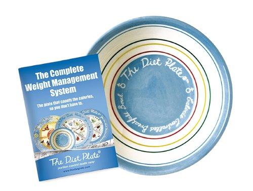 The Diet Plate Piato per cereali e colazione [Kitchen & Home]