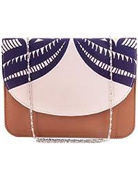 ShopMantra Women Multi-Color Printed Sling Bag - B078N142KN