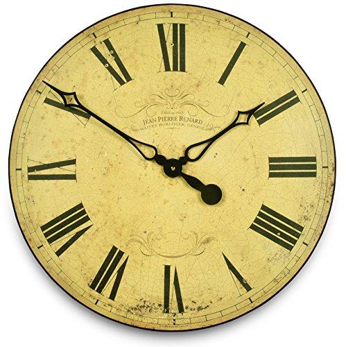 Roger Lascelles - Grande orologio svizzero da parete, stile: classico