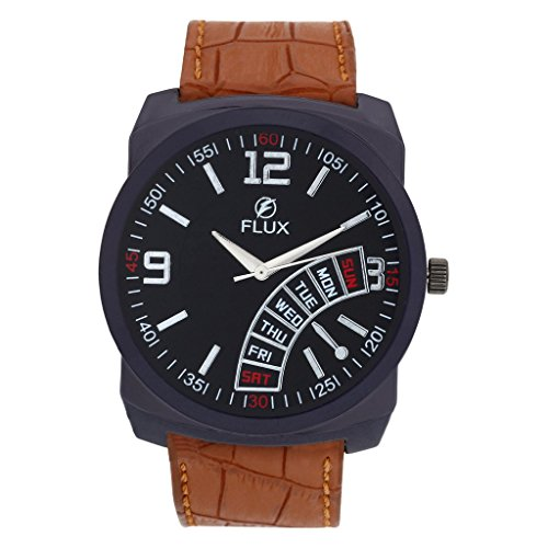 Flux Trendy Analog Black Dial Men's Watch WCH-FX132  available at amazon for Rs.149