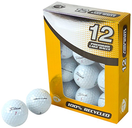 Second Chance Titleist Pro V1 - Lot DE 12 balles de Golf - Unisexe - Blanc