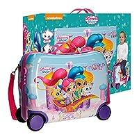 Modello Esclusivo Okami Bags. Dotato di chiusura con Zip e lucchetto a combinazione Quattro ruote. Trolley rigido da Viaggio Larghezza: 50 cm Altezza:39cm Spessore: 20 cm