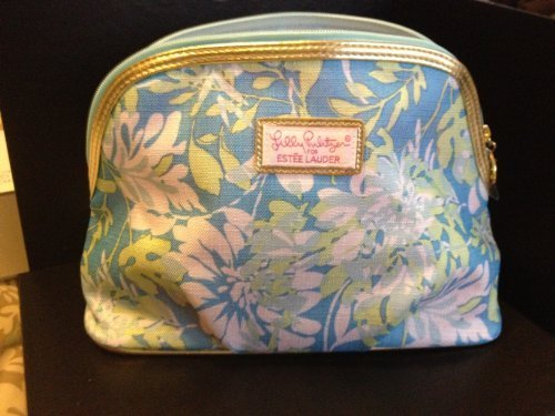 estee-lauder-lilly-pulitzer-blue-flower-printed-makeup-cosmetics-bag-by-lilly-pulitzer-for-estee-lau