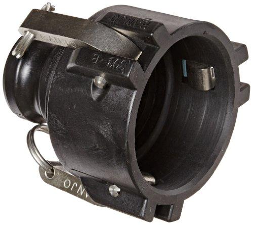 Banjo 303B200A Polypropylen-Kupplung, 7,6 x 5,1 cm weiblicher Kupplung x Adapter -