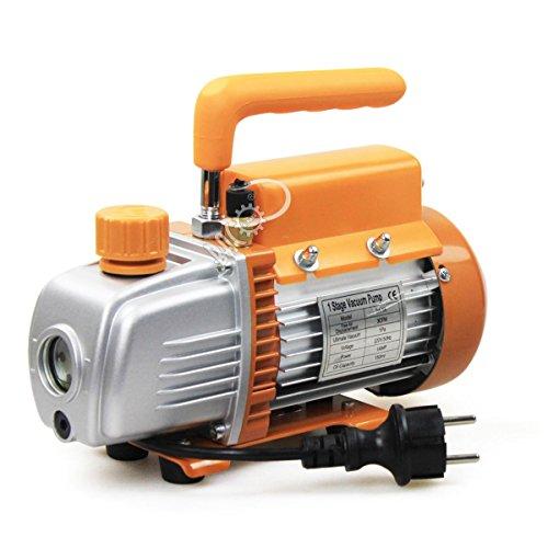 Cfm Pumpe (BACOENG 3CFM Einstufige Vakuumpumpe Unterdruckpumpe Vakuum Pumpe 85 L/Min)