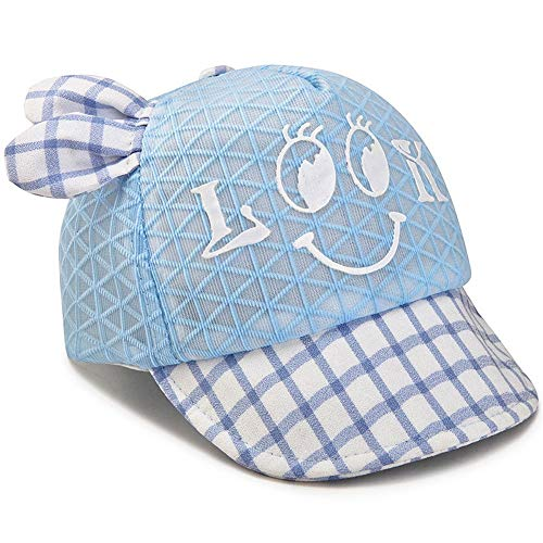 KCJMM-HAT Cap Herren Baseball Cap Herren Herren Cap ny Cap Herren Golf Cap Herren,Summer Plaid mesh Male Baby Boy Baseball Cap Sunscreen Soft Visor Visor Fashion Gauze Cap,A -